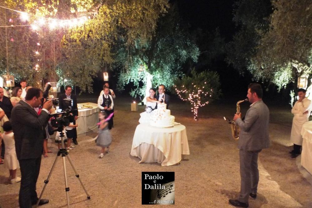 Matrimonio Lecce sassofonista