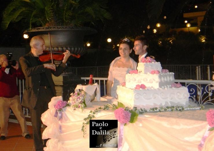 matrimonio Lecce violinista