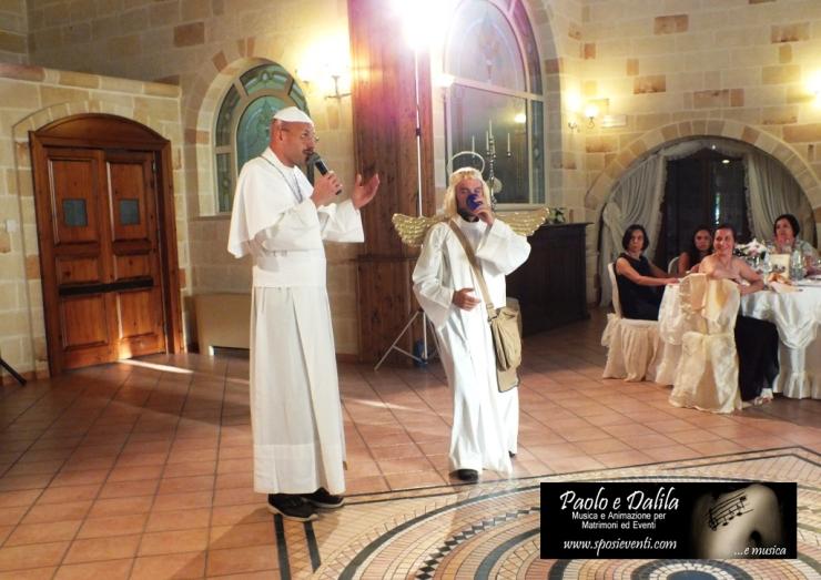 artisti per spettacoli matrimonio Lecce