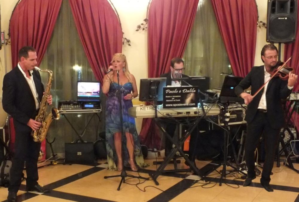 Musica per matrimonio Lecce ristorante Mille e Una Notte