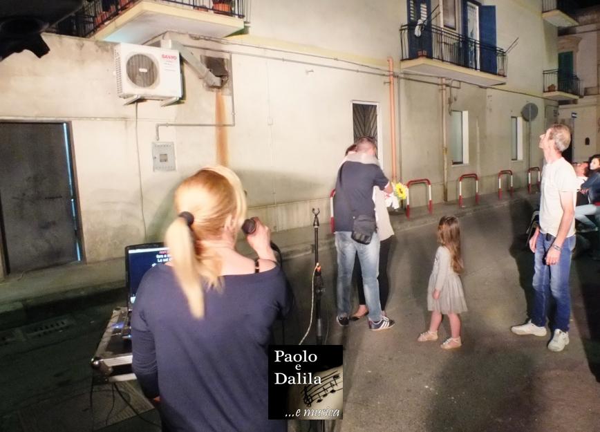Paolo e Dalila live musicisti per la serenata a Taranto e provincia