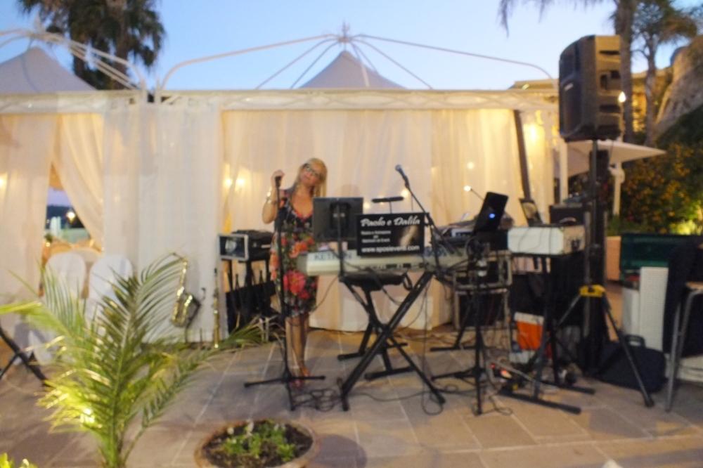 Musica matrimonio ristorante Grotta del conte