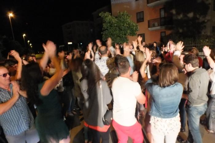 la serenata in Puglia di Paolo e Dalila Live