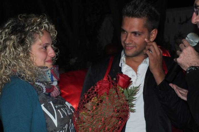 Paolo e Dalila Live musicisti che organizzano la serenata a Brindisi