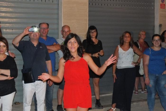 Musicisti che organizzano la serenata a Corato in Provincia di Bari