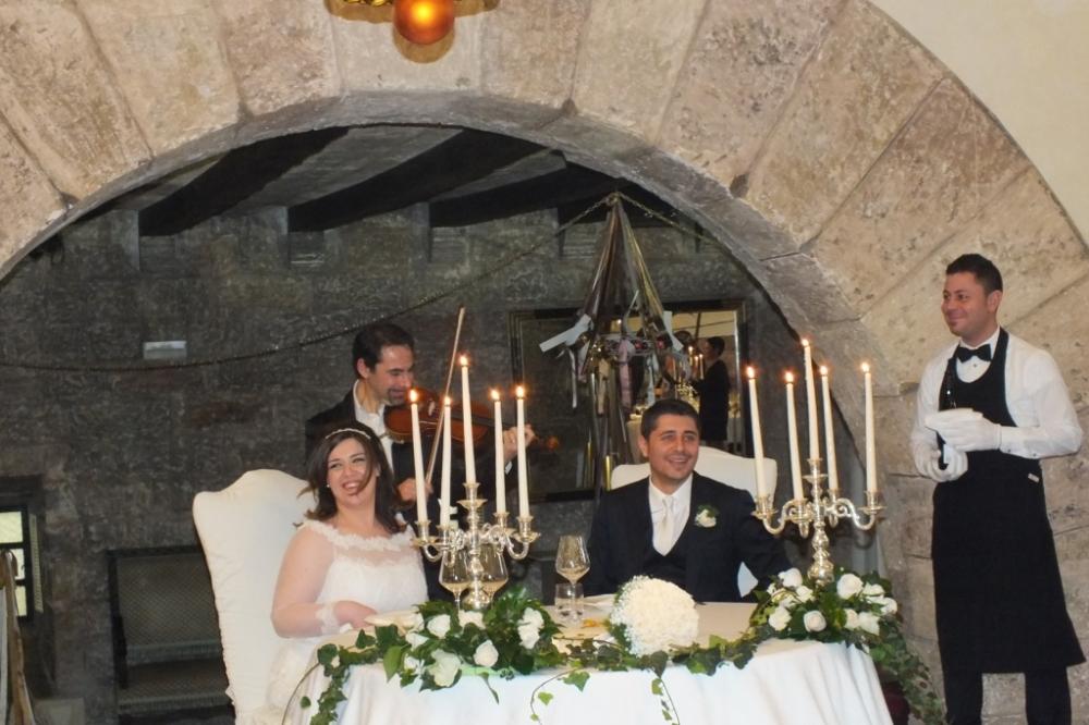 Gruppo musicale per matrimoni a Castello Monaci