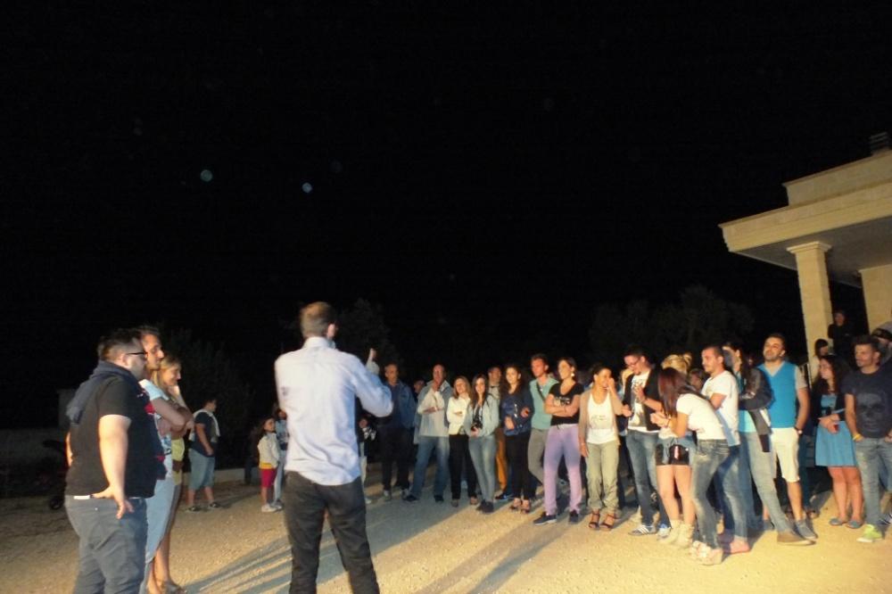 Fare la serenata alla sposa a Taranto