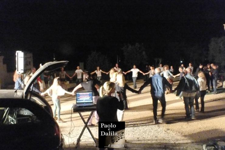 Paolo e Dalila Live organizzano la serenata a Taranto