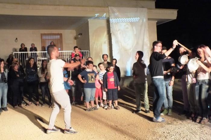 musicisti che organizzano la serenata alla sposa a Taranto