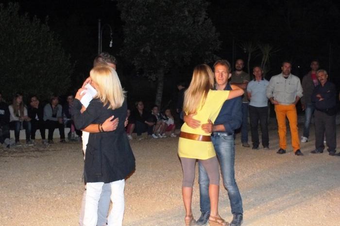 La serenata organizzata a Taranto con la musica del gruppo di Paolo e Dalila Live