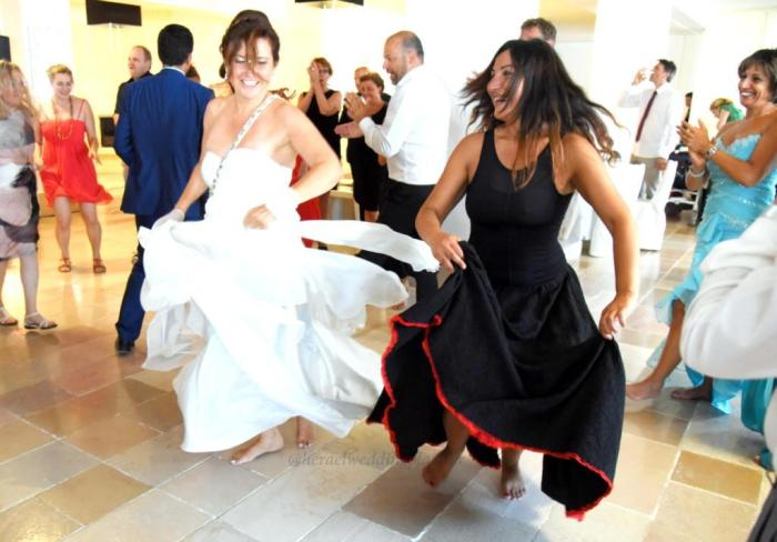 spettacolo di pizzica Leccese per il matrimonio