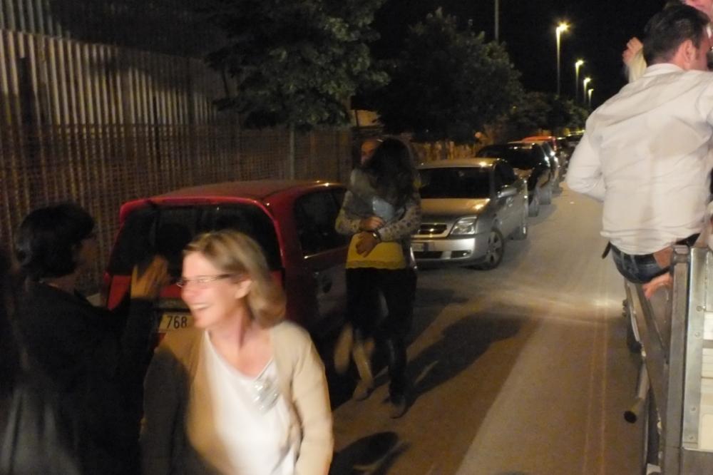 Paolo e Dalila Live organizzano la serenata alla sposa a Foggia