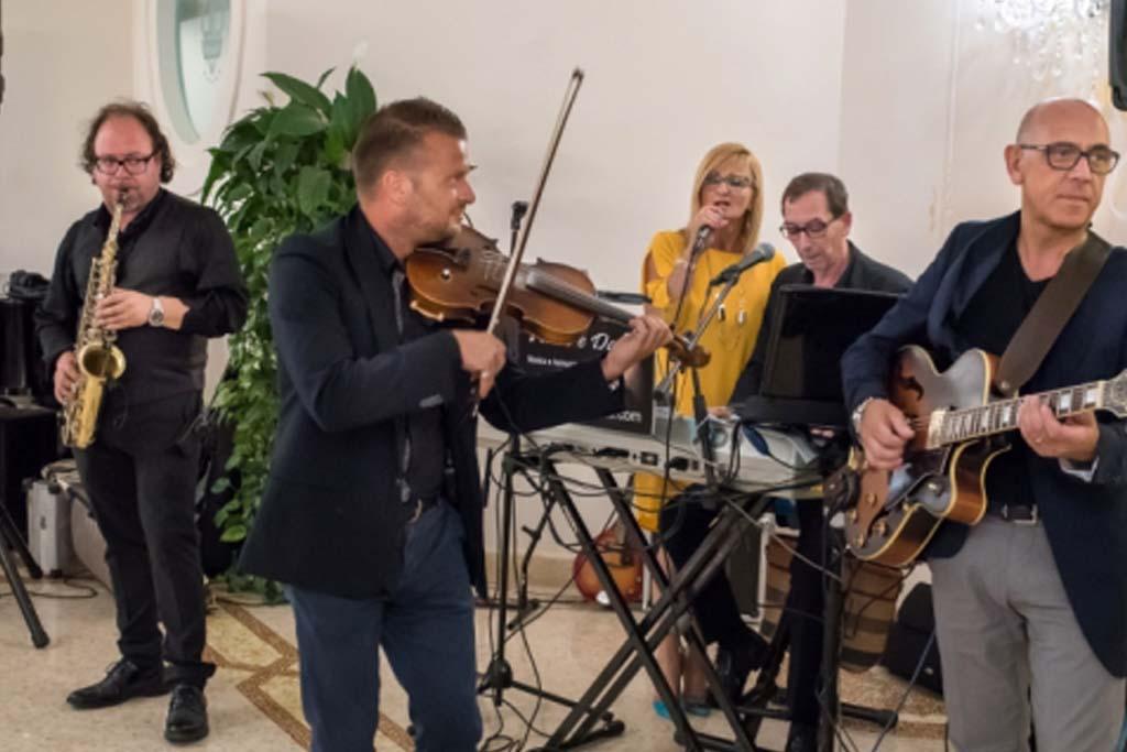 Band musicale matrimonio sax violino