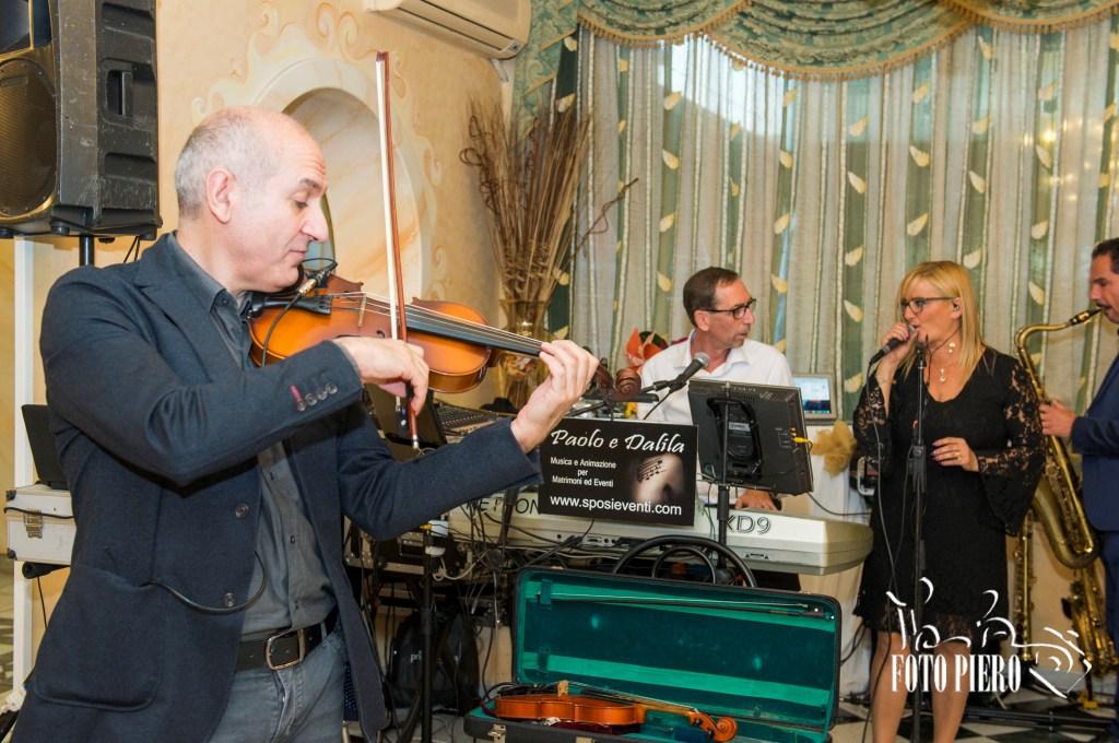 Band musicale violino sax musica per matrimonio Lecce