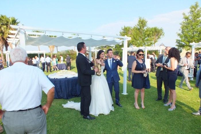 Musica per il ricevimento di nozze a Lecce
