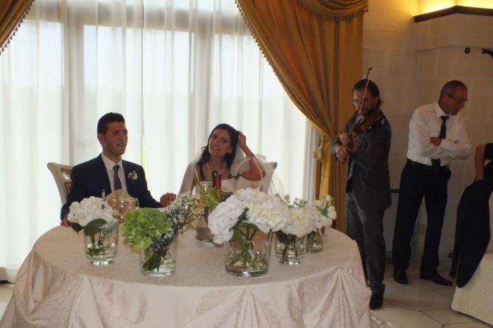 violinista per la musica dei matrimoni a Lecce