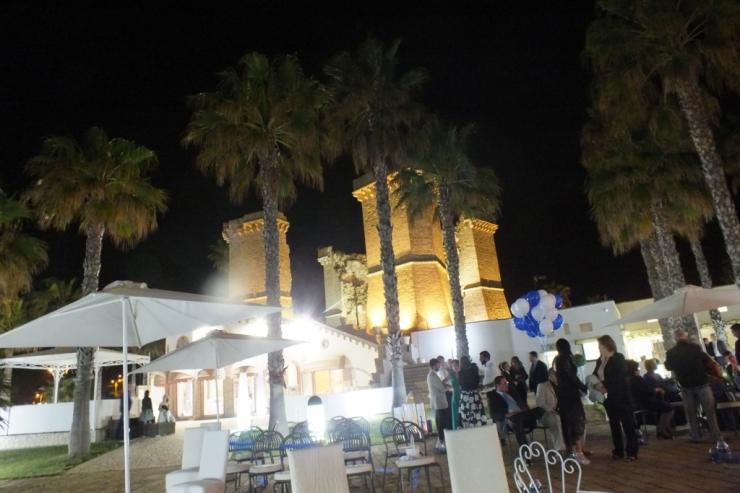 Ristorante sul mare a Lecce per un matrimonio con vista mare Oasi Quattro Colonne