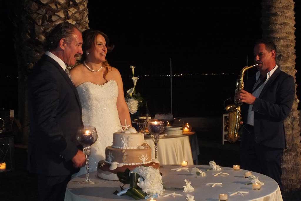 Sassofonista mmusica oasi Quattro Colonne matrimonio