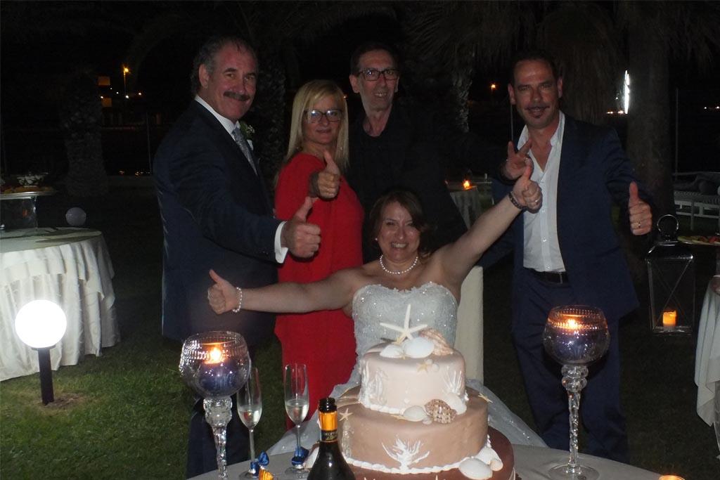 Sposi Oasi Quattro colonne