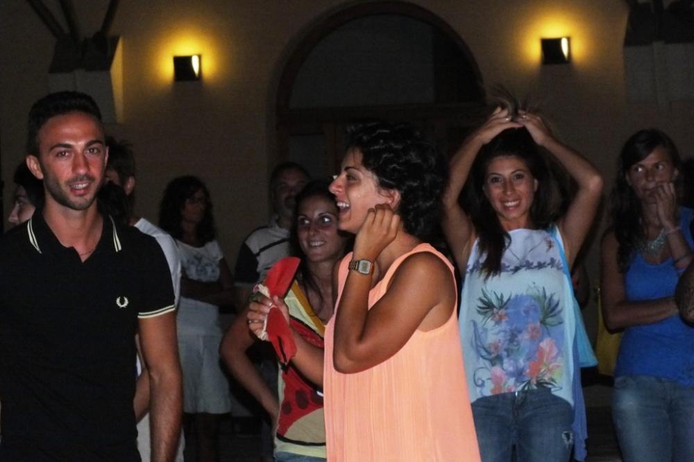 gruppo per l'animazione serenata alla sposa a Mesagne