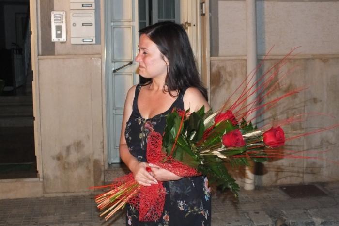 la serenata a Brindisi organizzata per la futura sposa