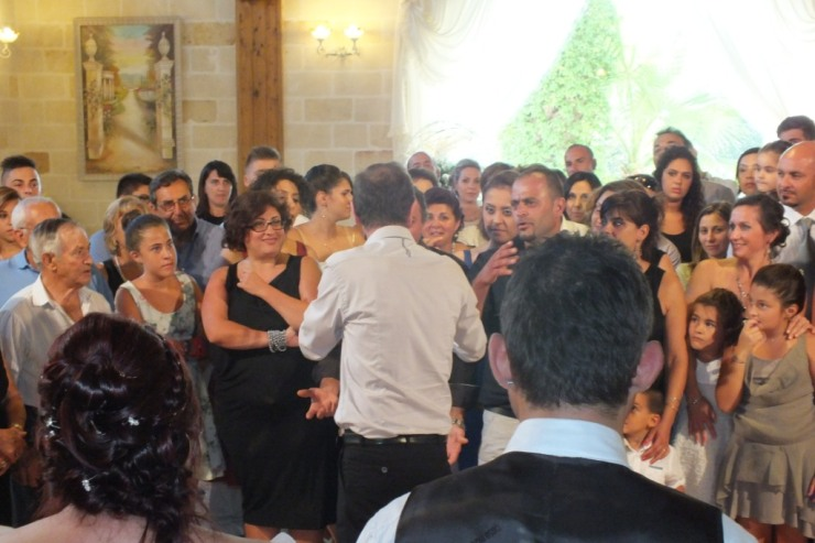 Gruppo per l'animanzione matrimonio alla Masseria Le Torri