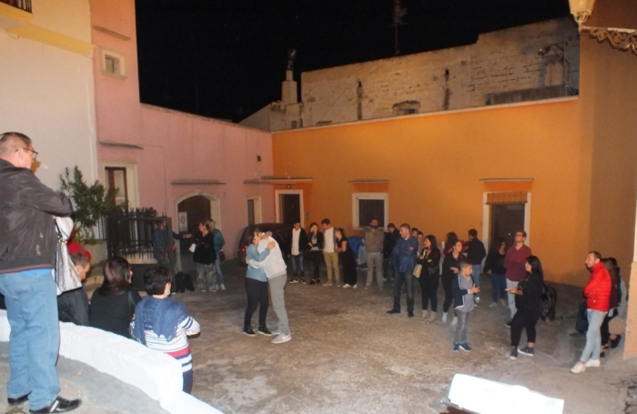 Matino in provincia di Lecce la serenata