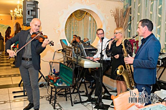 Band musicale violino e sax musica matrimonio Lecce