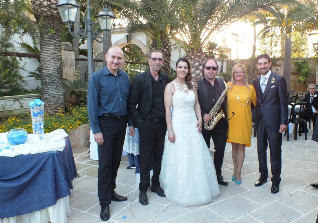 Band sax e violino musica matrimoni Lecce