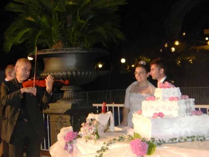 Marcello Baldassarre violinista per matrimonio Taranto