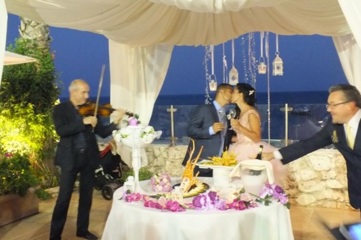 Musica per il matrimonio alla Grotta del Conte a Castro