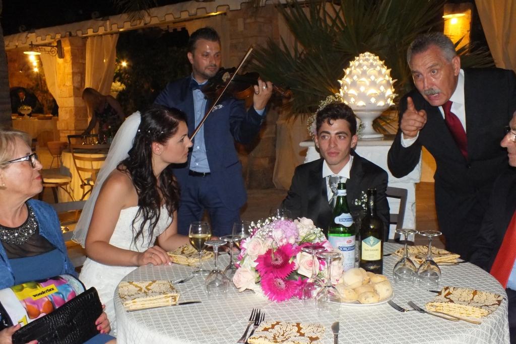 Gruppo musicale per la musica e animazione matrimonio Lecce