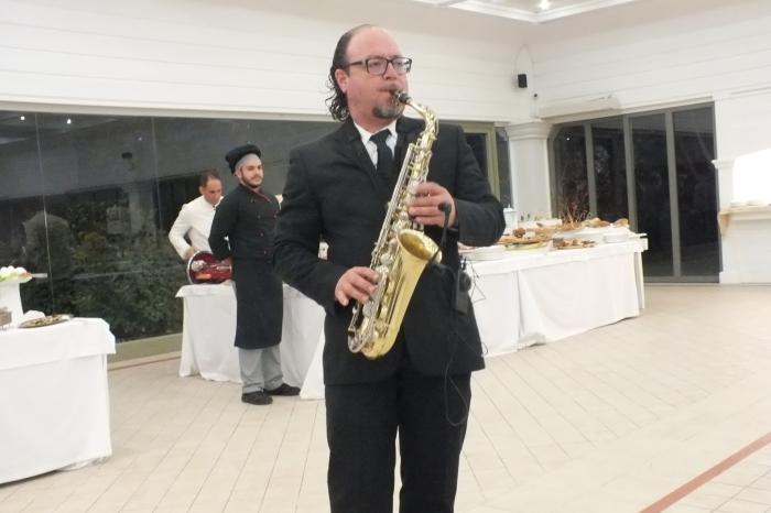 Matrimonio Brindisi sassofonista del gruppo di paolo e Dalila Live