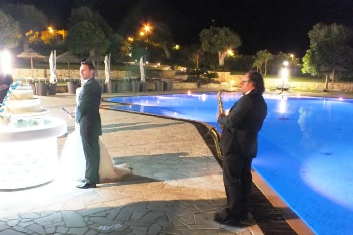 Paolo e Dalila Live gruppo con sassofonista per la musica del matrimonio a Lecce