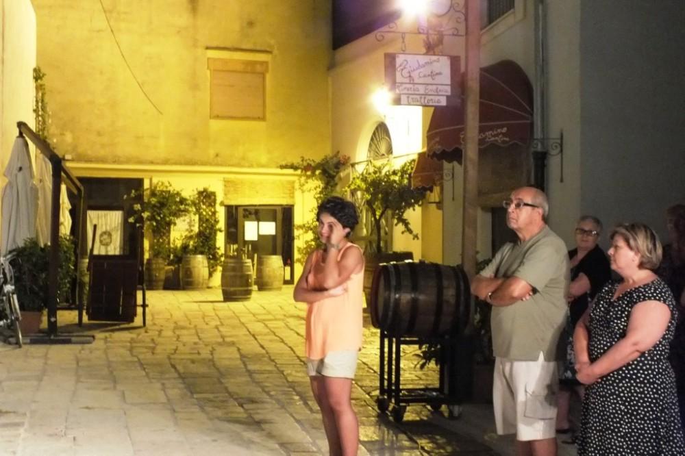 la serenata organizzata alla spsa a Brindisi