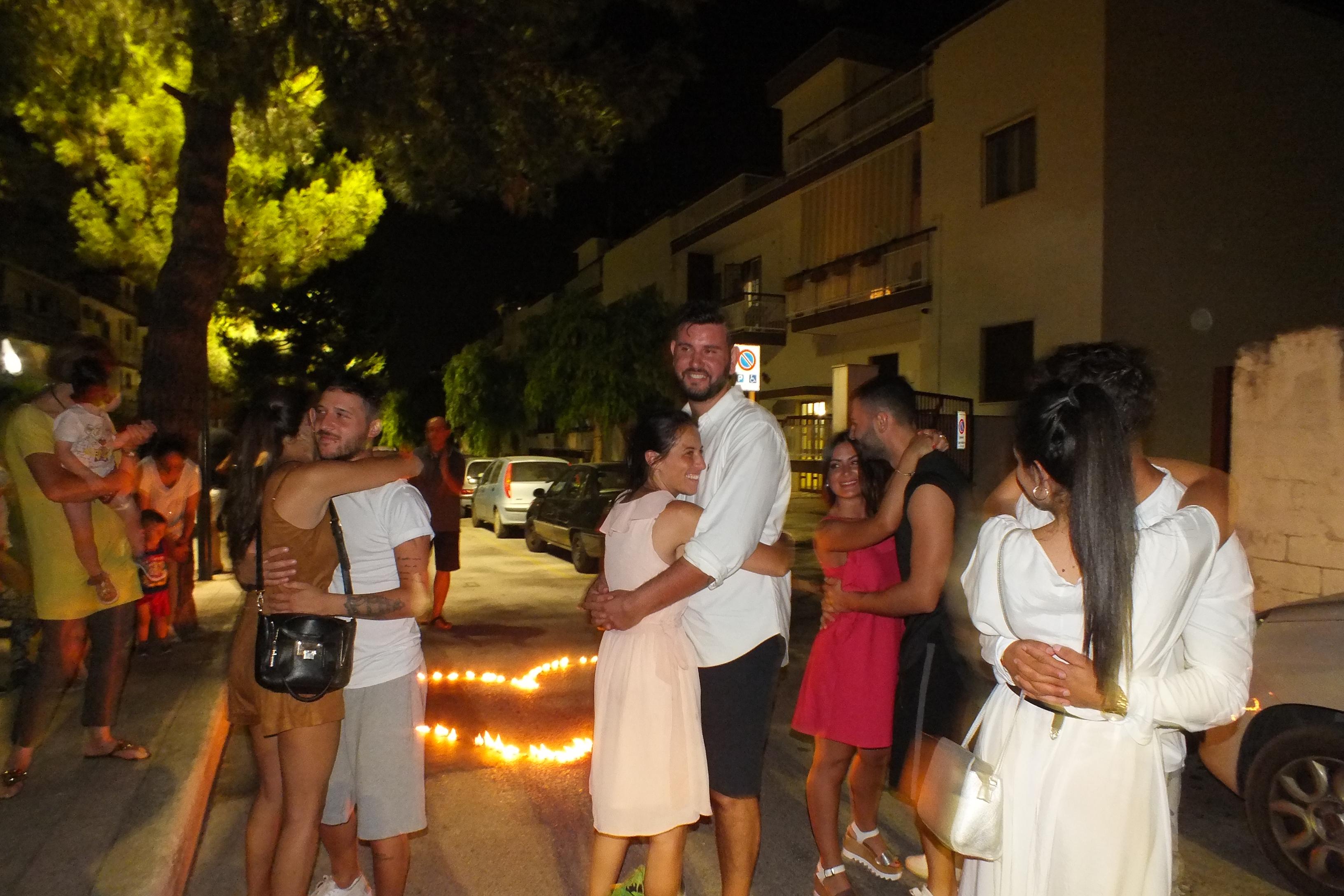 la serenata a Cellamare in provincia di Bari