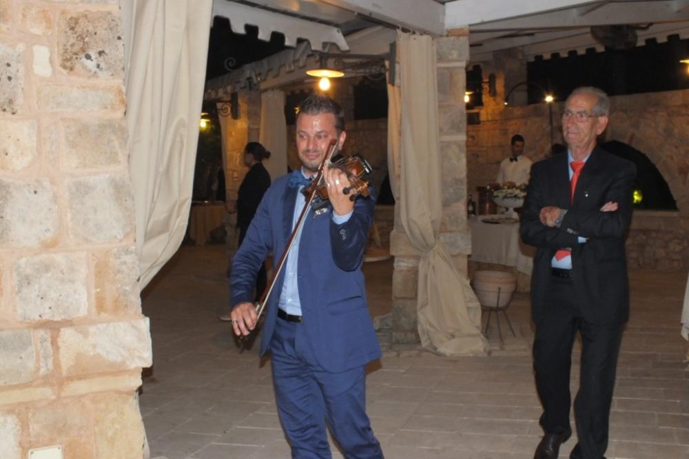 Violinista Lecce per la musica del matrimonio
