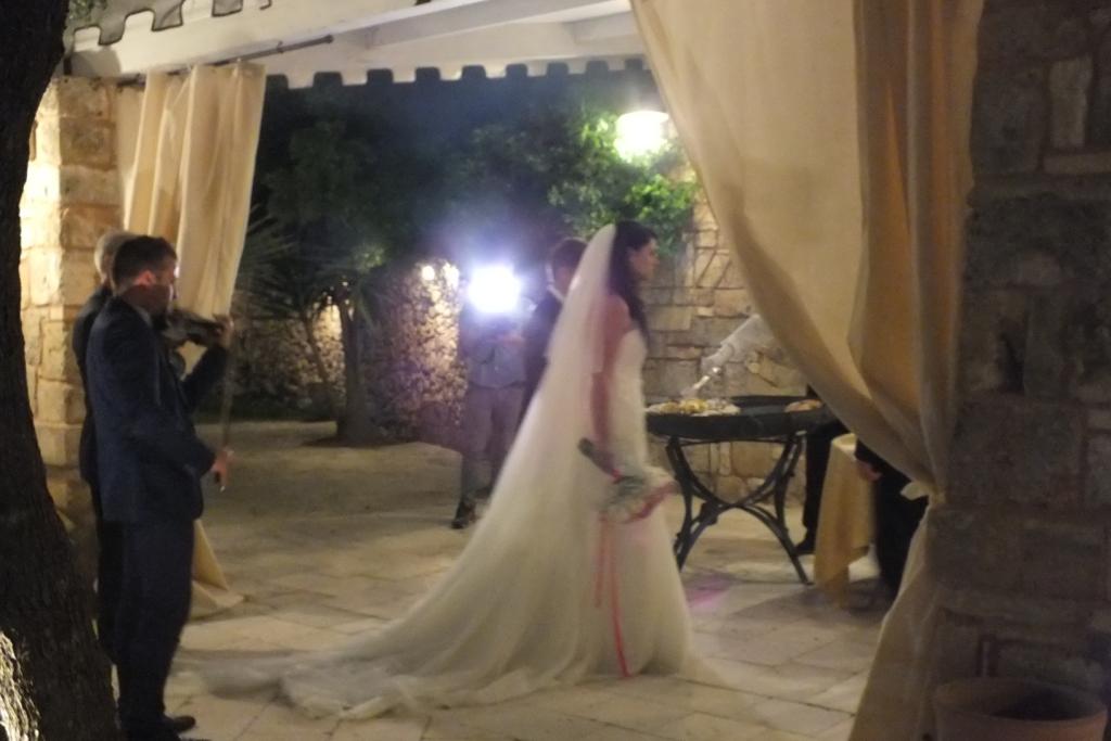 Villa Elda violinista per la musica del matrimonio