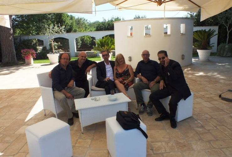 Musicisti del gruppo di Paolo e Dalila Live per la musica del matrimonio a Bari
