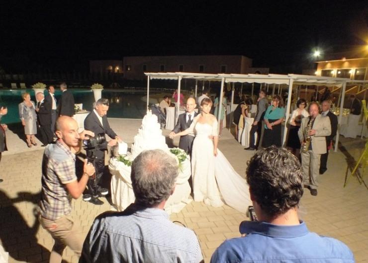 Matrimonio a Dimora mazzarò con la musica del sassofonista