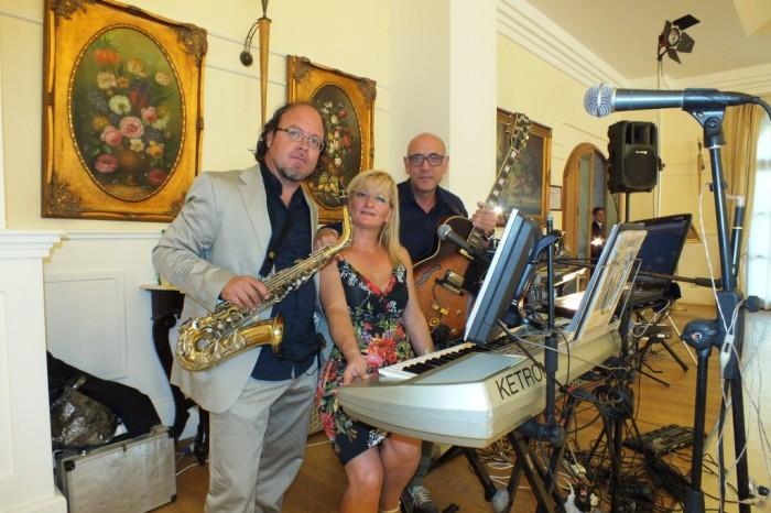 Trio musicale per il pranzo di nozze