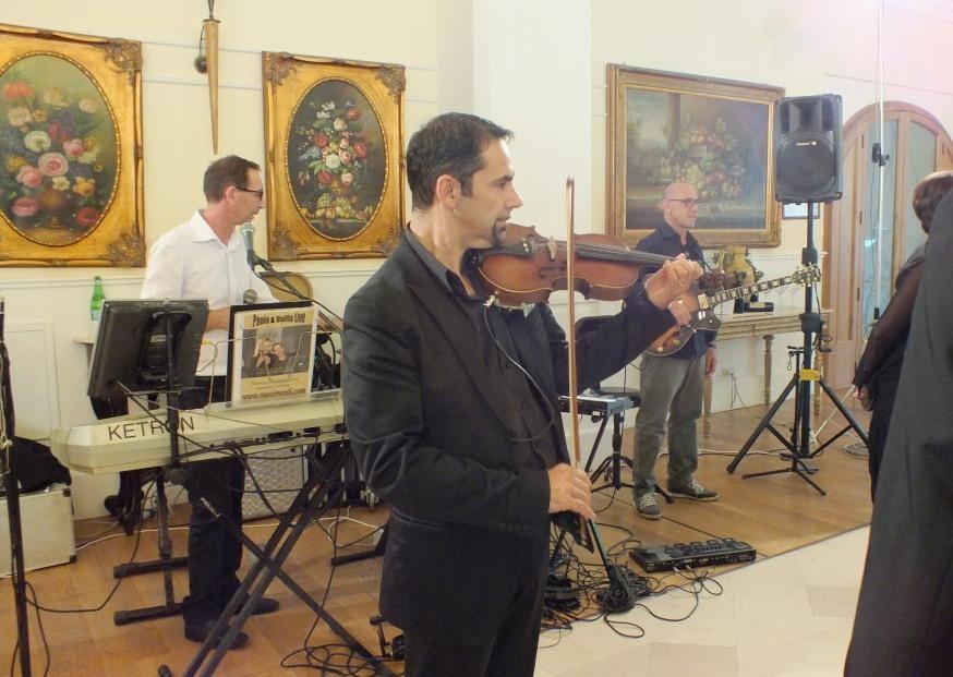 Gruppo che suona durante i matrimoni a Bari e provincia