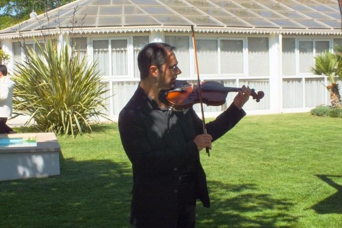 violinista matrimonio Bari