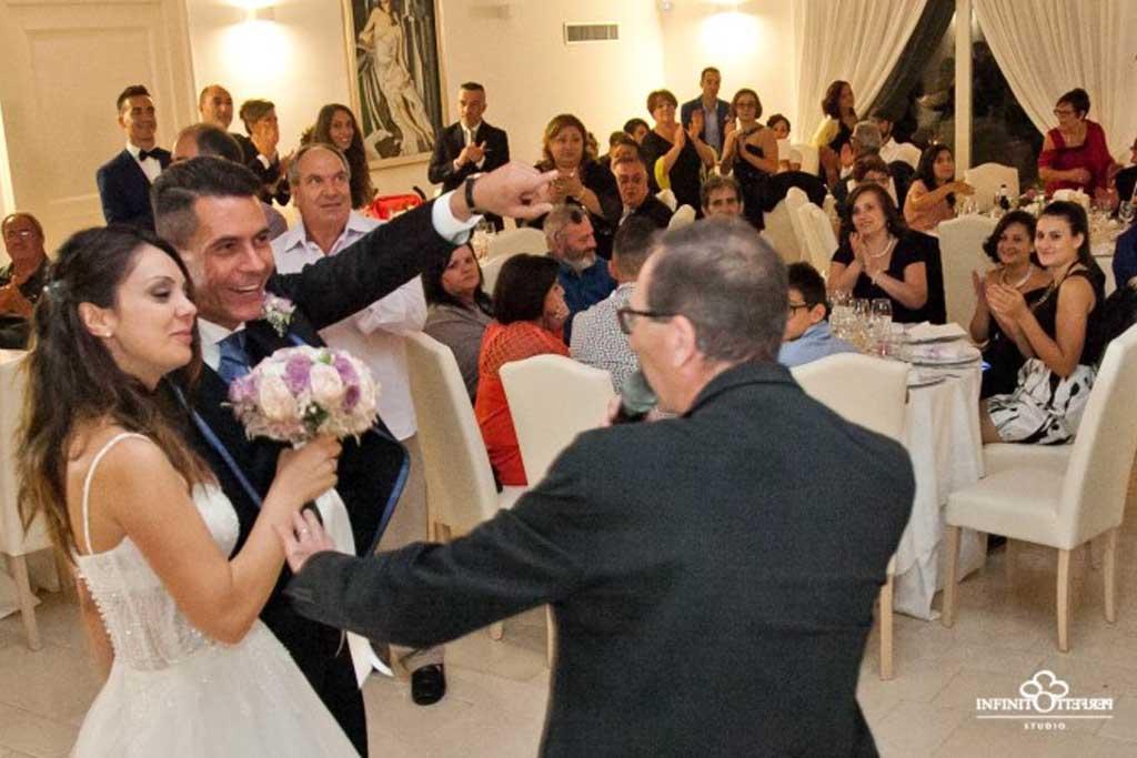 Animazione matrimonio Casina Calò Casarano