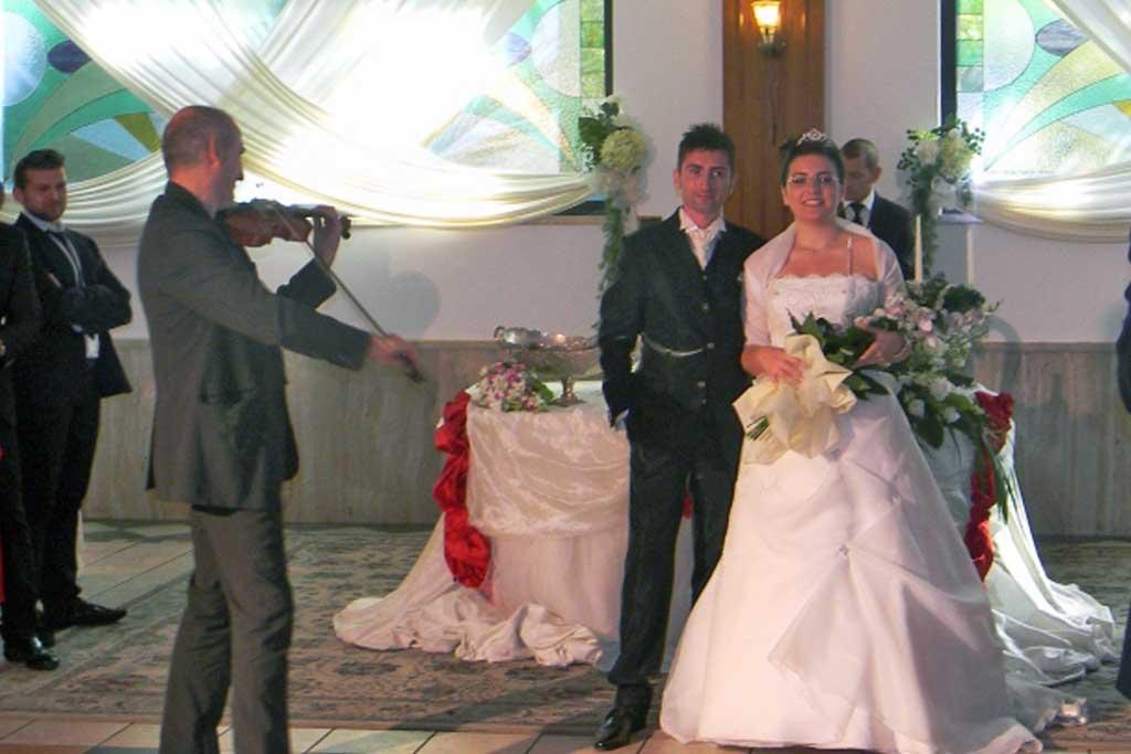 Violinista per matrimonio Taranto