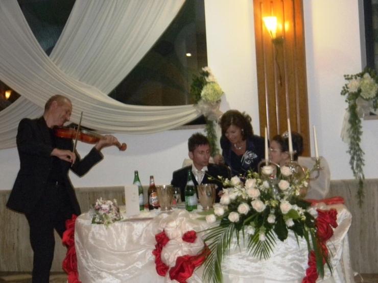 Violinista matrimonio Taranto