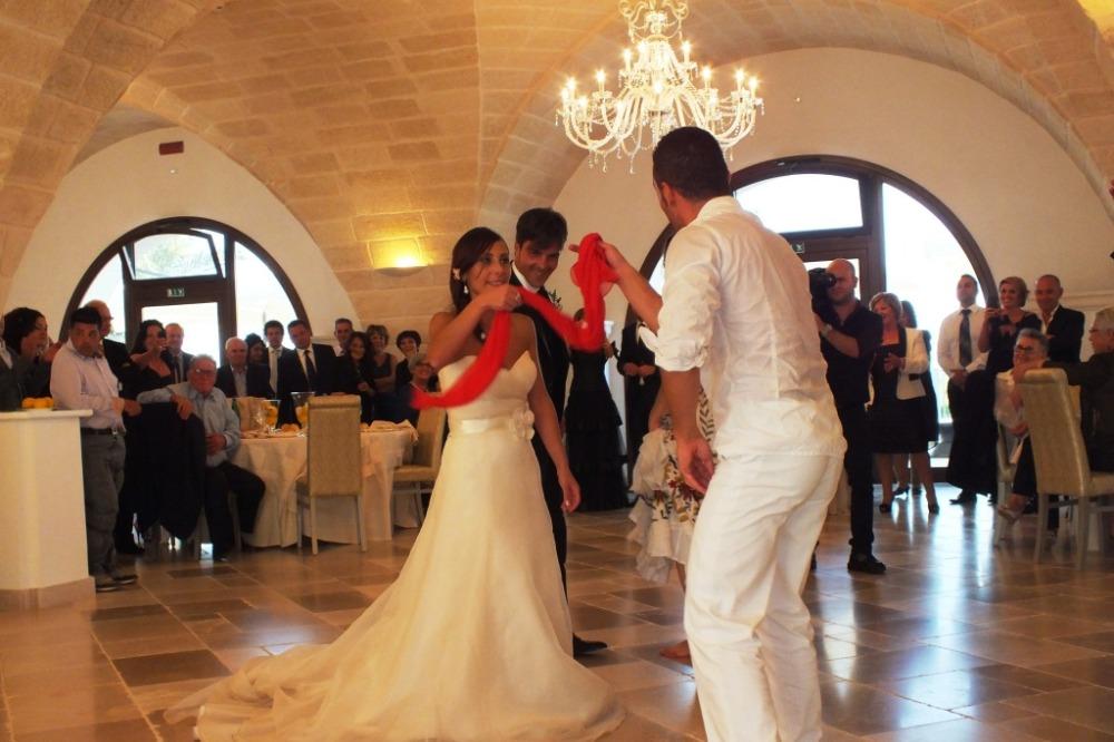 Balerini di pizzica leccese matrimonio Brindisi