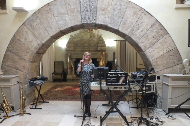 Gruppo musicale per matrimonio a Castello monaci