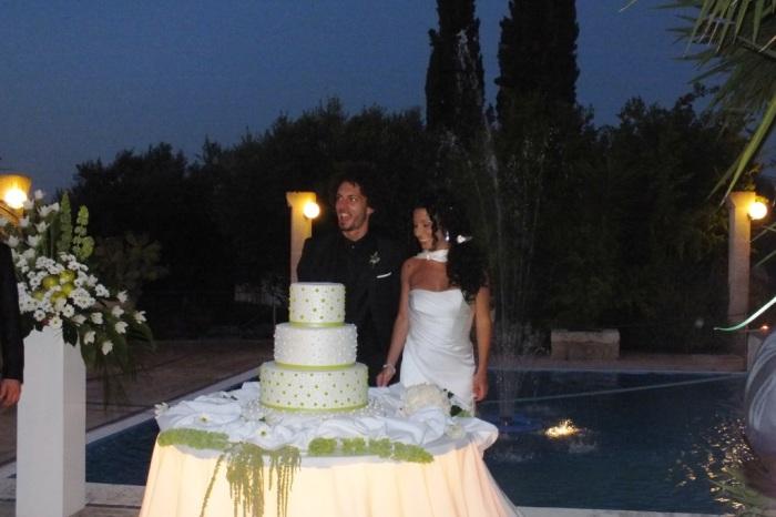 Masseria Torrepietra matrimonio Taglio torta