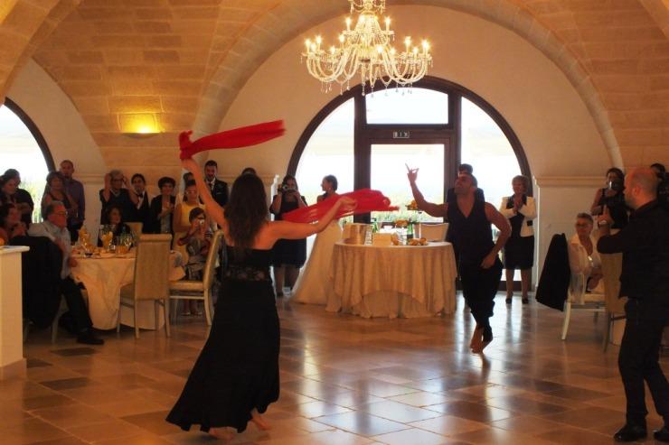 Ballerini di pizzica Leccese matrimonio Brindisi